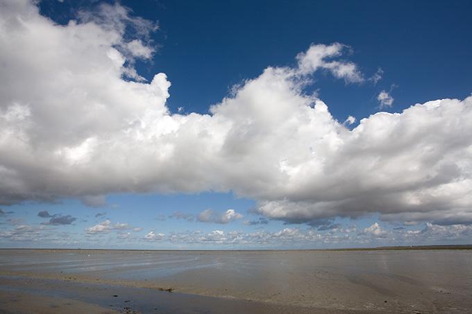 Wattenmeer bei Paesens (Niederlande), Foto: Frank Derer