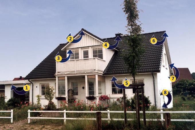 Fledermausfreundliches Haus NABU SH