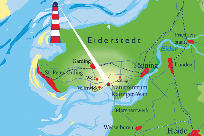 Sankt Peter Ording Karte.Nabu Naturzentrum Katinger Watt Nabu Schleswig Holstein