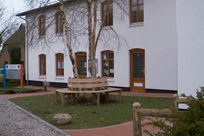 Birk Das Bad freiwillig tätig auf der geltinger birk nabu schleswig holstein