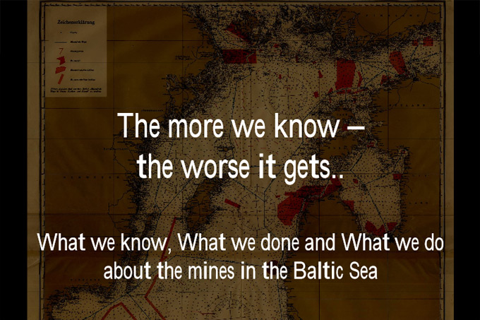 MIREMAR Presentation Gunnar Möller: The More we know, the Worse it gets – on the Situation of Conventional Ammunition in the Baltic Sea