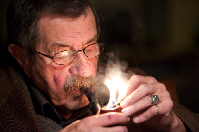 Günter Grass - Foto: Tim Jelonnek